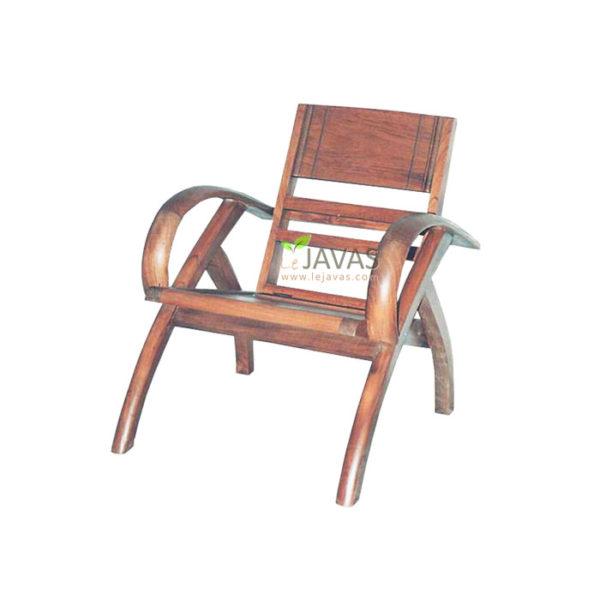 Teak Indoor Sedan Wood Chair