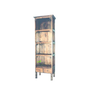 Teak Indoor Fantail Bookcase