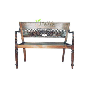 Teak Indoor Matahari 2 Seater