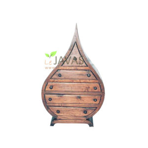 Teak Indoor Love Chest 5 Drawer