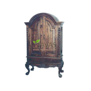 Teak Indoor Java Antique Armoire