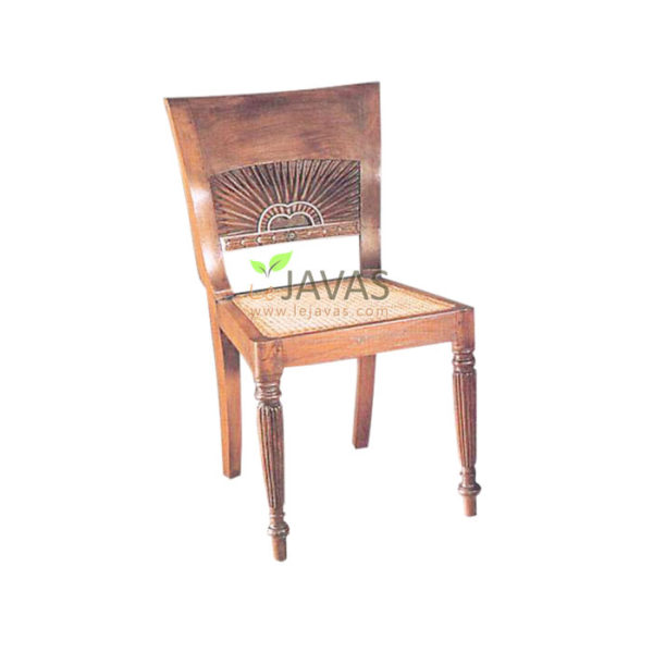 Teak Indoor Matahari Side Chair