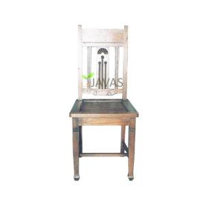 Teak Indoor Fantail Chair