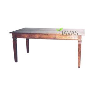 Teak Indoor Square Dining Table
