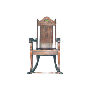 Teak Indoor Bamboo Rocking Chair MAC 009