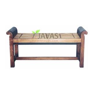 Teak Indoor Bamboo Stool 3 Seat MST 004 3S