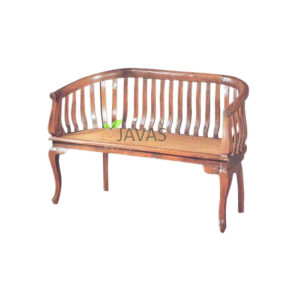 Teak Indoor Barrel Bench MBN 005