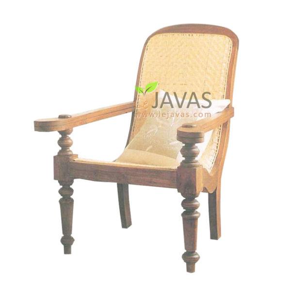 Teak Indoor Java Plantation lounger MSF 007