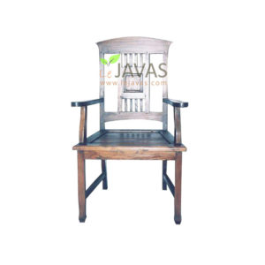 Teak Indoor Marmer Arm Chair MCR 002 A