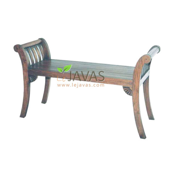 Teak Indoor Piano Stool 2 Seat MST 003 2S