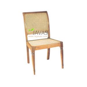 Teak Indoor Rafles Side Chair MCR 007