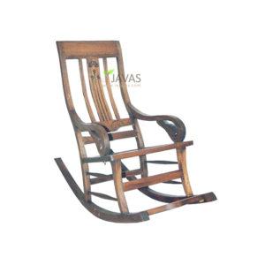 Teak Indoor Rocking Chair MAC 010