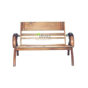 Teak Indoor Sedan Bamboo 2 Seater MBN 002 W