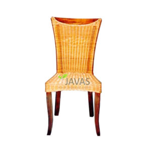 Teak Indoor Thobias Rattan Yellow Dinner MDC 003 RY