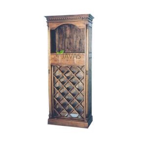 Teak Indoor Wine Cabinet MCB 004