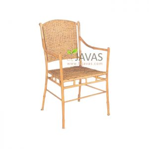 Teak Indoor Bamboo Arm Chair