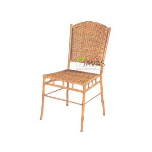 Teak Indoor Bamboo Side Chair MCR 011