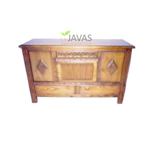Teak Indoor Buffet 2 Drawer MBF 001