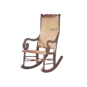 Teak Indoor Curacao Rocking Chair MAC 026