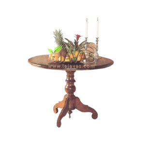 Teak Indoor Dutch Colonial Dining Table MDT 006