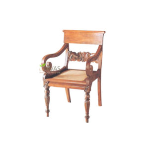 Teak Indoor Dutch Colony Chair MAC 022