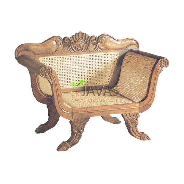 Teak Indoor Madura Throne MSF 012