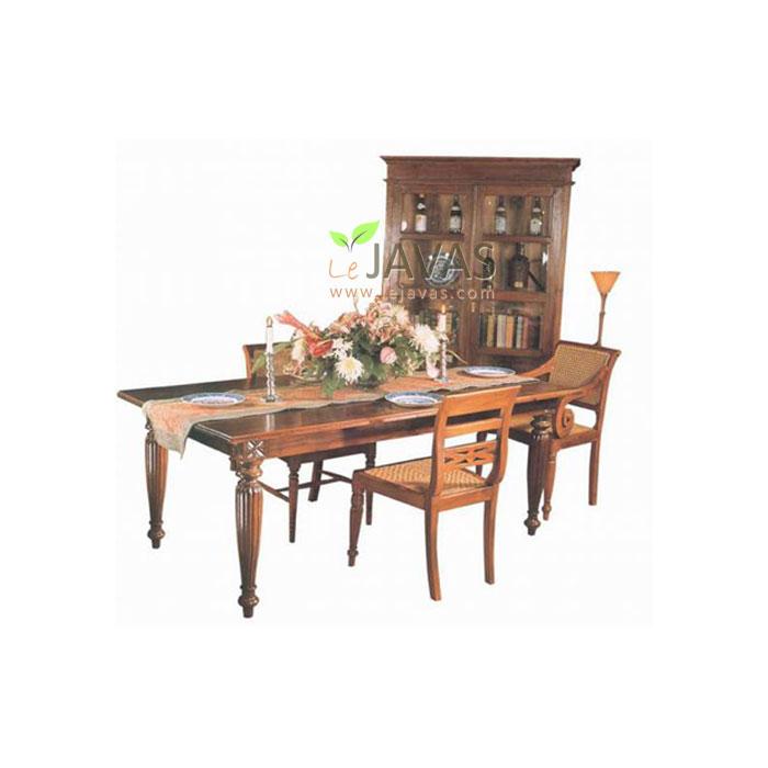 Teak Indoor Mandalay Dining Table - Teak Dining Table Wholesale