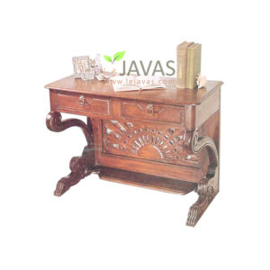Teak Indoor Matahari Desk