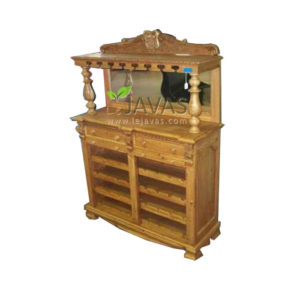 Teak Indoor Mini Wine Bar MCB 003 E
