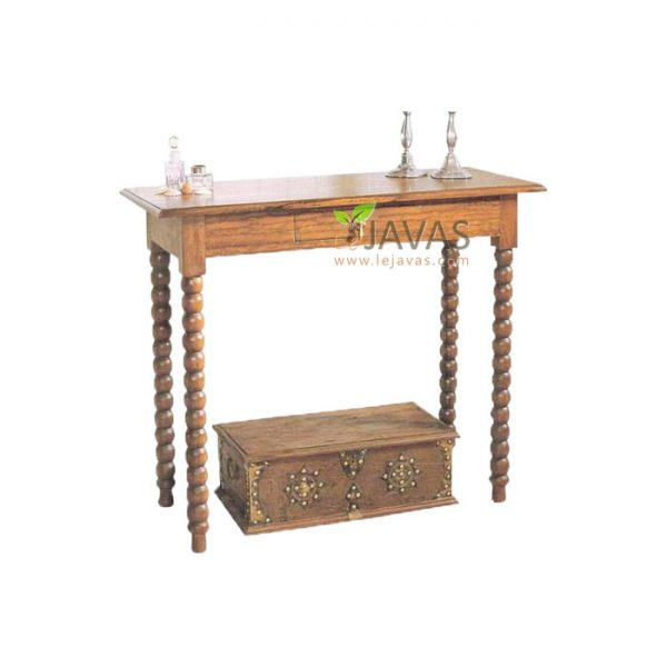 Teak Indoor Planters Console Table MCS 004