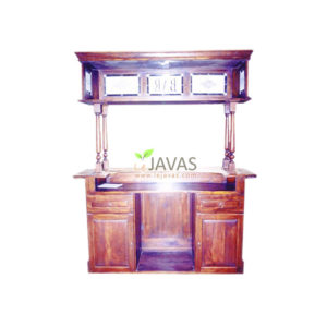 Teak Indoor Rectangular Counter Bar MBC 003 C