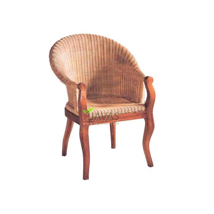 Teak Indoor Singapore Sling Chair Mac 025