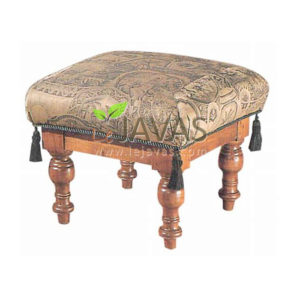 Teak Indoor Viceroy Stool MST 013