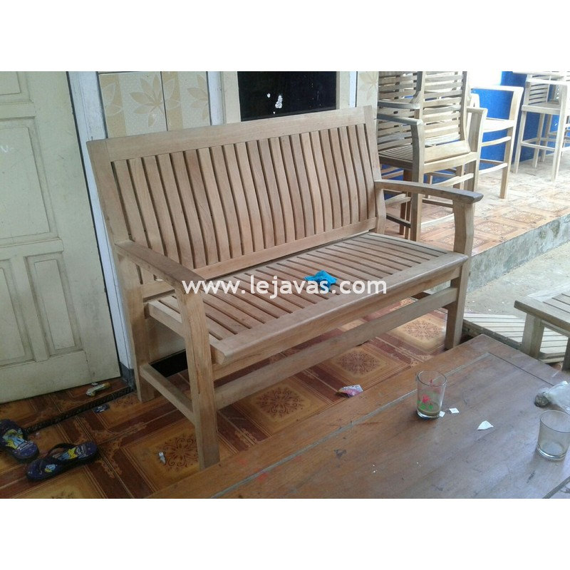 Almeer Bench 2 Seater Teak Patio